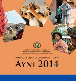 Catálogo de Oferta de Cooperación Técnica AYNI 2014