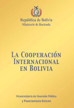 La Cooperación Internacional en Bolivia (2005)