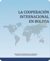 La Cooperación Internacional en Bolivia (2013)